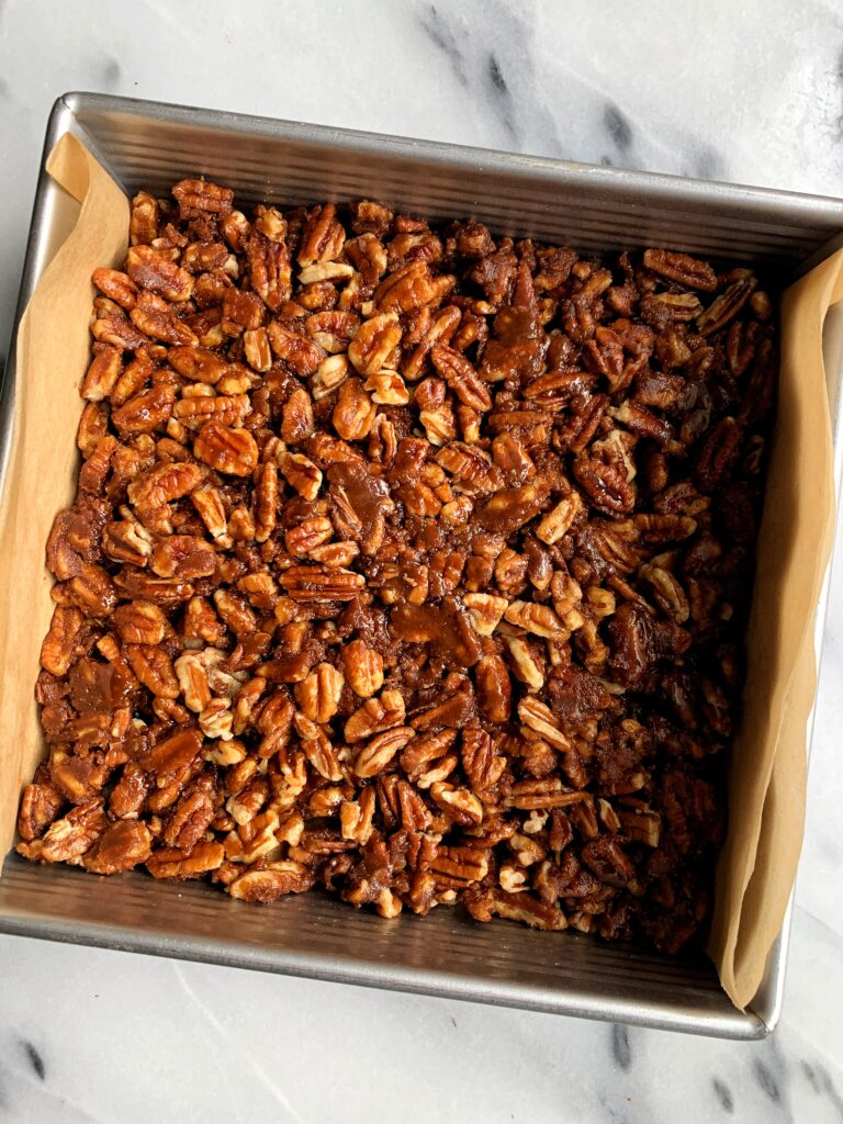 MLW Thanksgiving Recipe - Pecan Pie Bars