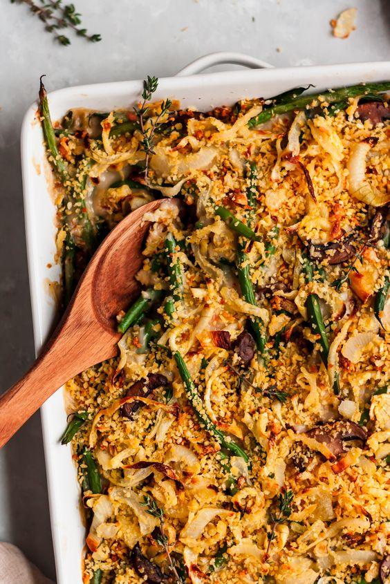 MLW Thanksgiving Recipe - Green Bean Casserole