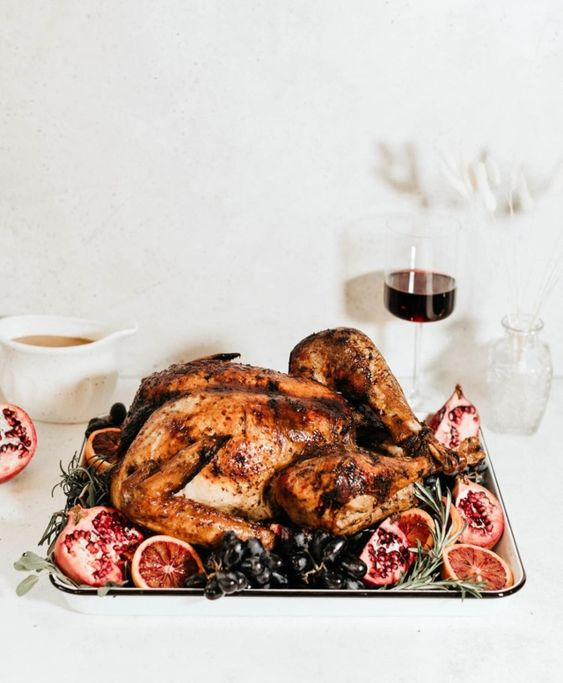 MLW Thanksgiving Recipe - Herb Roasted Turkey
