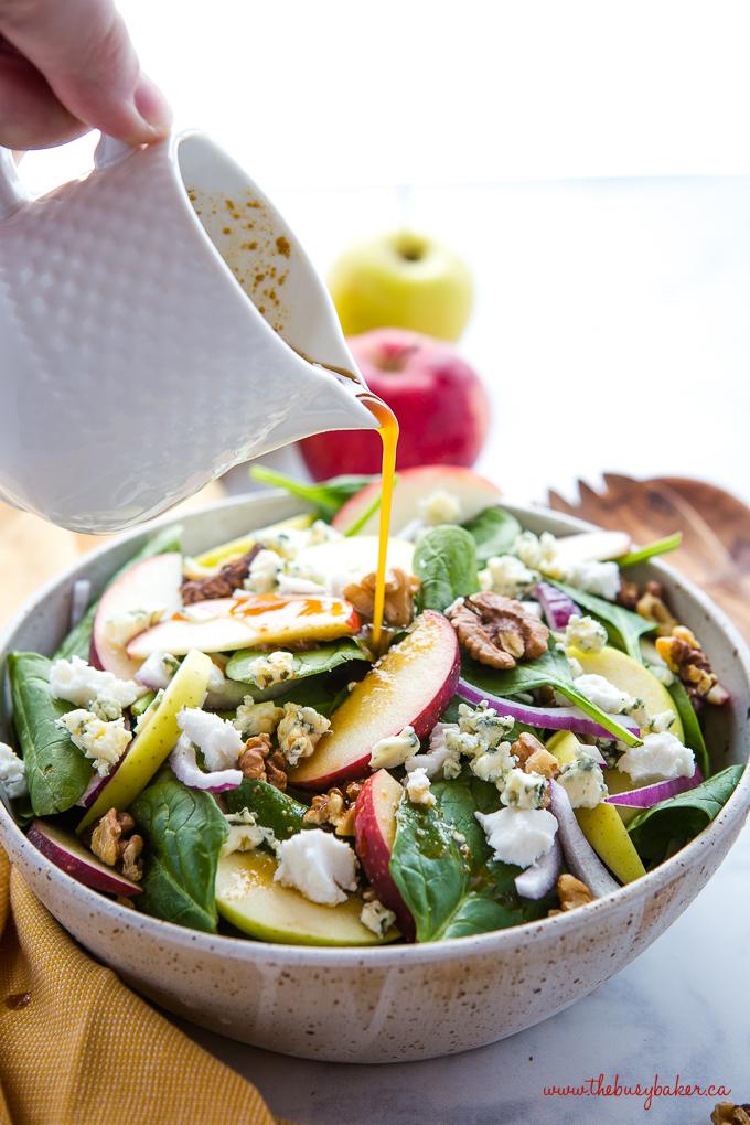 MLW - Thanksgiving Recipe - apple-walnut-spinach-salad-6