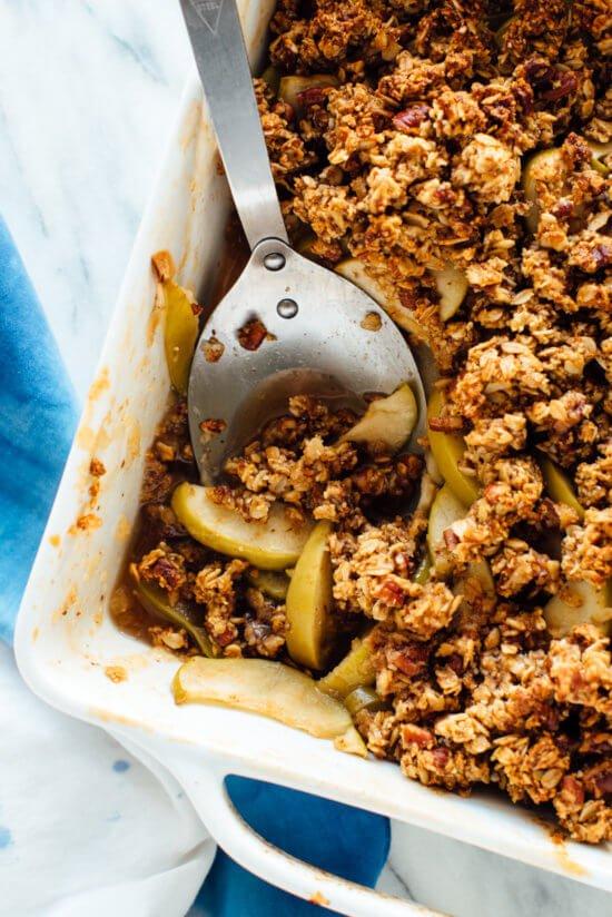 MLW Thanksgiving Recipe - gluten-free-apple-crisp-recipe