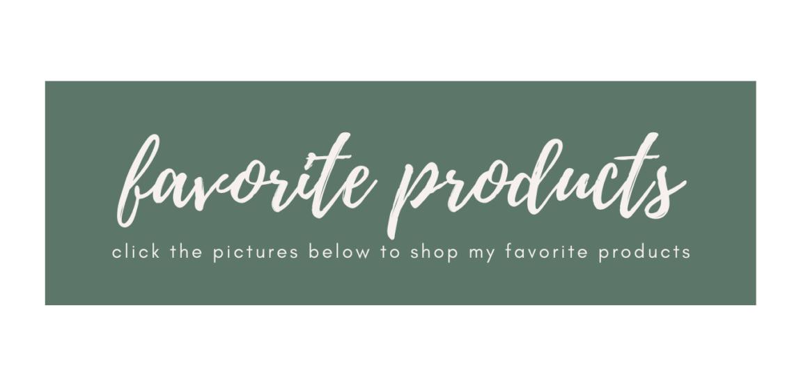 Shop Mikaela Lauren's Favorite Products
