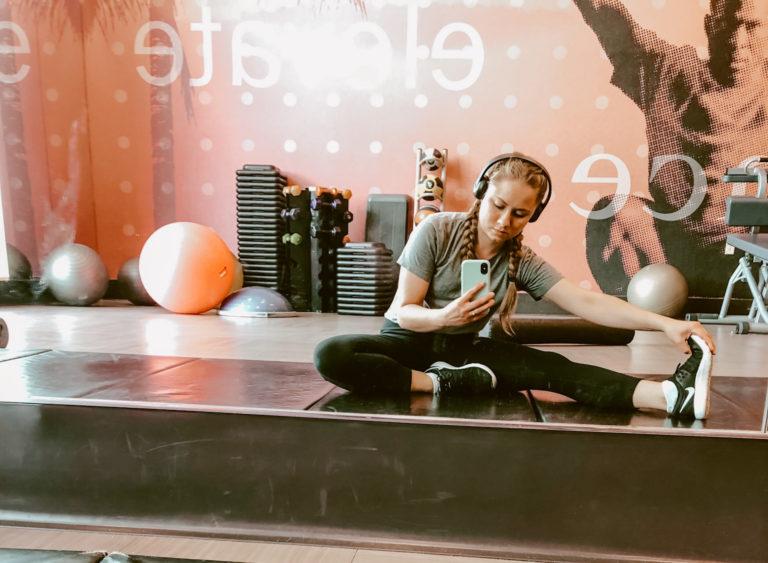 Mikaela Lauren Wellness Stretch