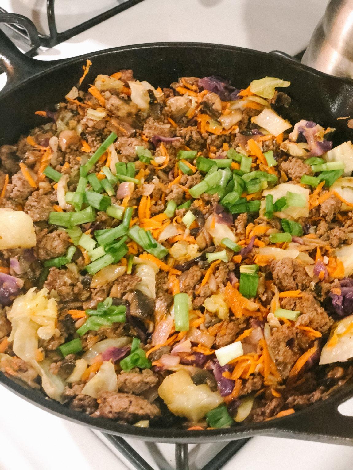 Ground Beef Stir-fry Bowls - Mikaela Lauren Wellness