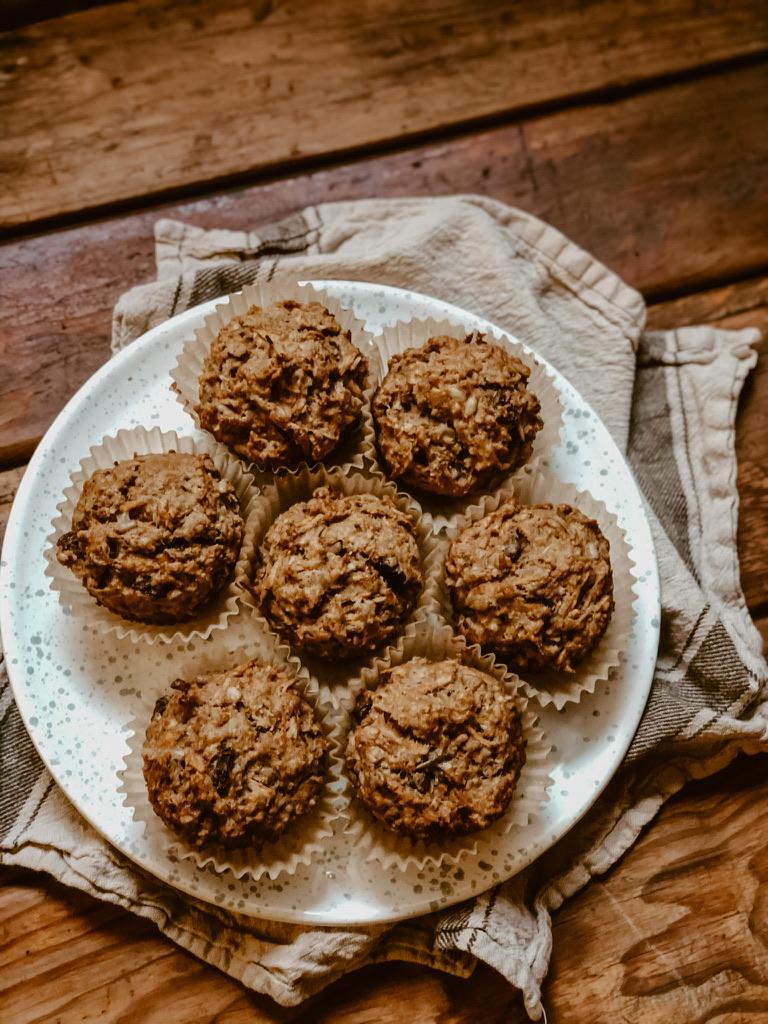 Mikaela Lauren Wellness Healthy Morning Glory Muffins