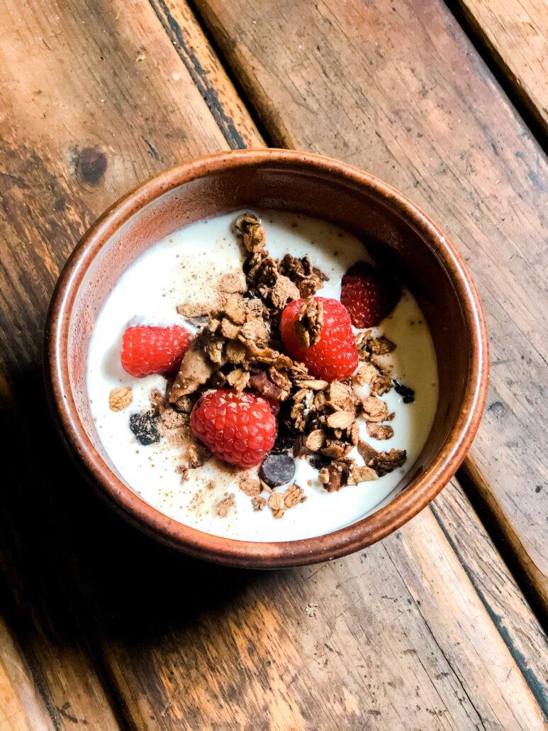 Chocolate-cherry-granola-mikaela-lauren-wellness