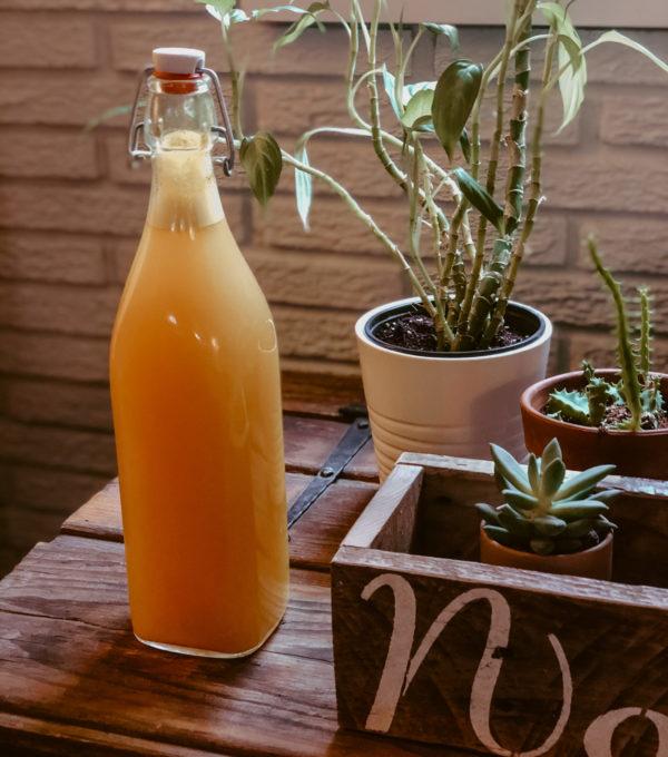 Ginger Turmeric Immune Boosting Drink